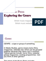 The Music Press Genre