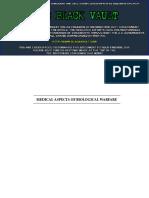 Medical AspectsofBiologicalWarfare