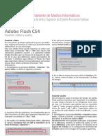 Adobe Flash - Insertar vídeo y audio