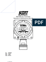 4600gasPLUS Transmitter SCOTTsafety