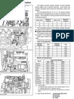 Kubota Engine Model