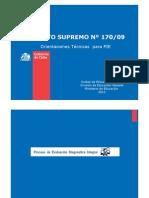 Orientaciones Mineduc Para NEE 2013