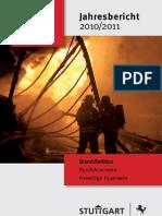 Jahresbericht Branddirektion Stuttgart 2010-11