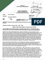 Complaint against APD Sgt. Adam Casaus