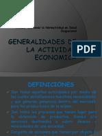 Generalidades de La Actividad Economica