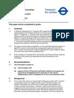 TfL Crossrail 2 report, March 2013