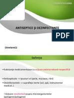 Antiseptice Si Dezinfectante