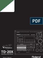 Roland TD20 Manual