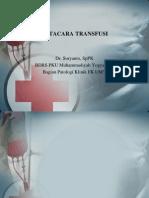 Tatacara transfusi