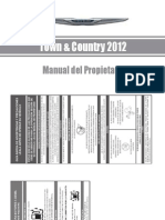 Manual Propietario Town Country 2012