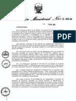 Plan Estratégico Sectorial Multianual (PESEM) 2012-2013