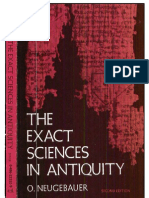 The Exact Sciences in Antiquity