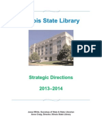 Illinois State Library Strategic Directions 2013-2014