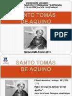 Biografia de Santo Tomás