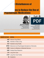 Behavioral Disturbances of DEMENTIA