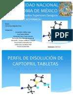 JONATHAN URBINA SOTO-PERFIL DE DISOLUCIÓN DE CAPTOPRIL TABLETAS