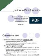 1_introduction to Bioinformatics