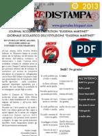 Il giornalino scolastico - Prima Edizione '13