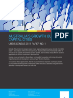 Australias Growth Outside Capital Cities