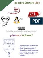 Algunas Ideas Sobre Software Libre