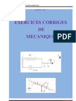 92578822exercices Corriges Mecaniques PDF