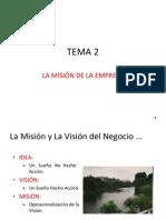2 - La Mision de La Empresa.ppt