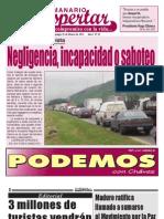 Semanario El despertar Edición N° 25