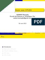 présentation cplex