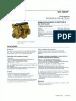 Motores Industriales Diesel Cat c13 Acert