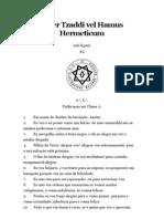 Liber Tzaddi Vel Hamus Hermeticum
