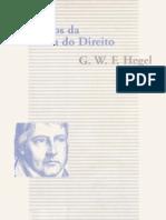 HEGEL. Princípios da Filosofia do Direito