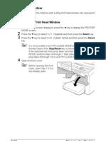 Cleaning Print Head Window1690MF