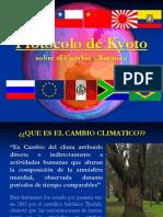Protocolo de Kyoto Sobre El Cambio Climatico