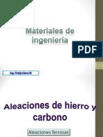 Aleaciones Ferrosas I
