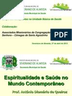 2012espiritualidadeesadenomundocontemporneo-120425094356-phpapp01
