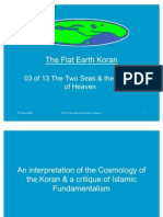 Flat Earth Koran 03 of 13 - The Two Seas & the Ocean of Heaven