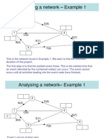 D1,L8 Critical Path Analysis Early Event Time Examples