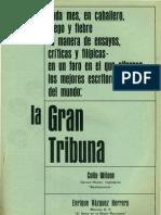 La Gran Tribuna. Revista Caballero.marzo, 1966.