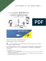 Solucao Exercicios Proj Quimicos Petroquimicos