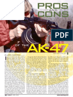 Pros and Cons of AK platform rifles