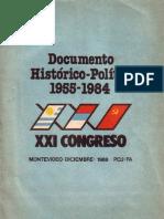 DOCUMENTO HISTORICO-POLÍTICO 1955-1984