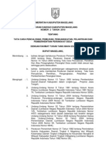 2. Tata Cara Pencalonan Pemilihan Pengangkatan Pelantikan Dan Pemberhentian Perangkat Desa