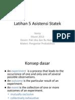 Latihan 5 Asistensi Statistika Ekonomi Dan Bisnis Ppt