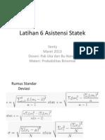 Latihan 6 Asistensi Statistika Ekonomi Dan Bisnis Ppt