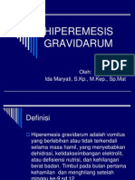 Hiperemesis Gravidarum a 2009