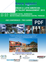 Caribbean and LATAM Conference on Talent Management 2013