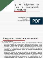 Riesgos y Régimen de garantías en la contratación estatal