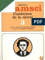 Gramsci Antonio Cuadernos de La Carcel Tomo 3