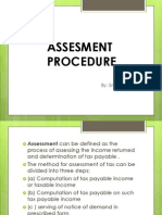 Assesment Procedure