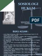 Sosiologi Hukum (23 Maret 2013)